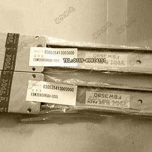 THK直线滚动板式导轨、FBW3590XR、直线滚动滑座
