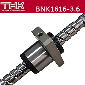 THK丝杠\精密滚珠丝杆\BNK1616-3.6G0+321LC5Y\丝杆轴端完成品