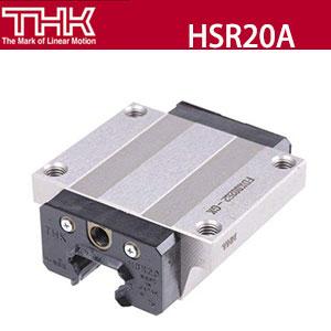 原装进口日本THK高组装直线导轨HSR-20A、四方式滚珠滑块