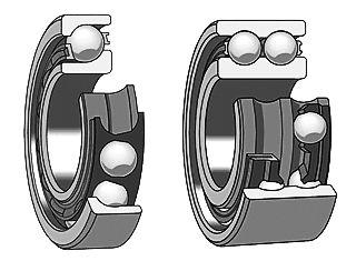 各类滚动轴承的承载负荷